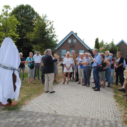 Opening van het Trammonument